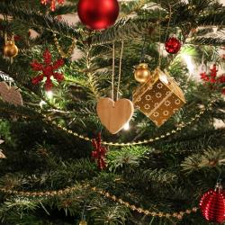 Anielska choineczka świąteczna
